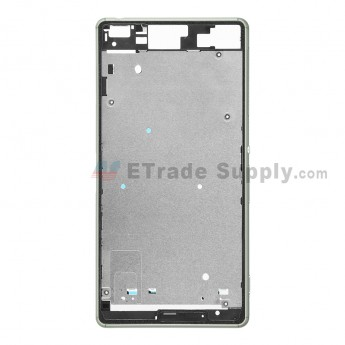 For Sony Xperia Z3 Front Housing Replacement - Green - Grade S+