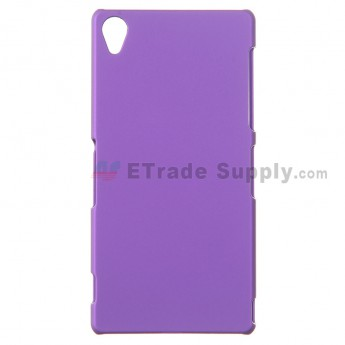 For Sony Xperia Z3 Protective Case - Purple - Grade R