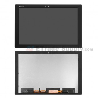For Sony Xperia Z4 Tablet LCD Screen and Digitizer Assembly Replacement - Black - Grade S+