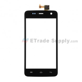 For Wiko Bloom Digitizer Touch Screen Replacement - Black - Grade S+