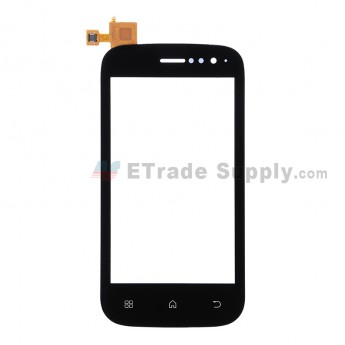 For Wiko Cink Slim Digitizer Touch Screen Replacement - Black - Grade S+