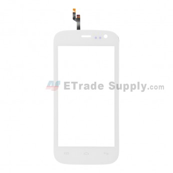 For Wiko Iggy Digitizer Touch Screen Replacement - White - Grade S+