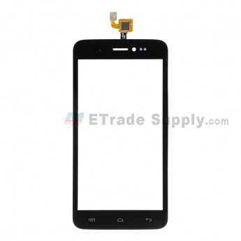 For Wiko Lenny Digitizer Touch Screen Replacement - Black - Grade S+