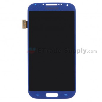 For Samsung Galaxy S4 GT-I9500/I9505/I545/L720/R970/I337/M919/I9502 LCD Screen and Digitizer Assembly Replacement - Sapphire - With Logo- Grade S