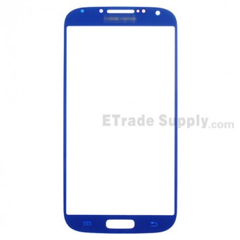 For Samsung Galaxy S4 GT-I9500/I9505/I545/L720/R970/I337/M919/I9502 Glass Lens Replacement - Sapphire - Grade R