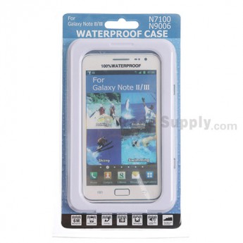 For Samsung Galaxy Note 2 Series Water-proof Protective Case - Grade R