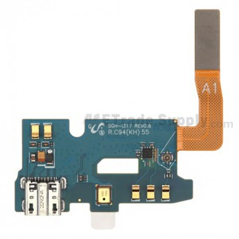 For Samsung Galaxy Note 2 SGH-i317 Charging Port Flex Cable Ribbon Replacement - Grade R