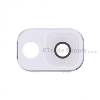 For Samsung Galaxy Note 3 Series Camera Lens and Bezel Replacement - White - Grade R
