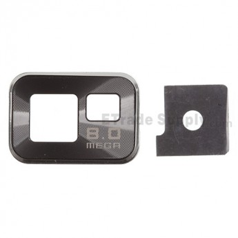 For Samsung Galaxy S II i9100 Camera Lens with Bezel Replacement - Grade R
