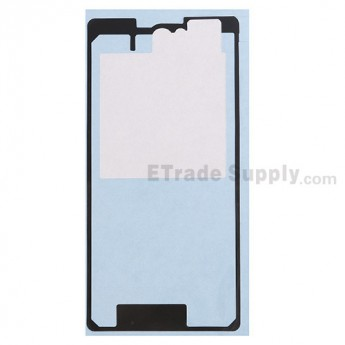 For Sony Xperia Z1 Compact Battery Door Adhesive Replacement - Grade R