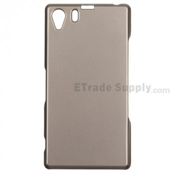 For Sony Xperia Z1 L39h Protective Case - Gray - Grade R