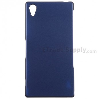For Sony Xperia Z2 Protective Case - Dark Blue - Grade R