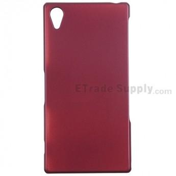For Sony Xperia Z2 Protective Case - Dark Red - Grade R