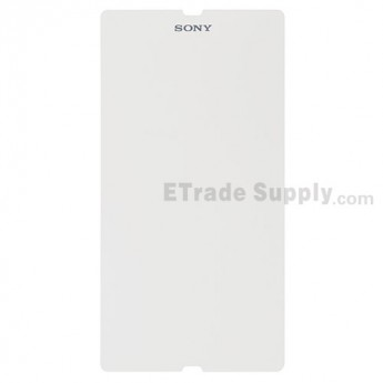 For Sony Xperia Z L36h Explosion-proof Screen Protector Film Replacement - With Logo