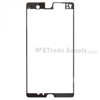 For Sony Xperia Z L36h Front Housing Adhesive Replacement - Grade R