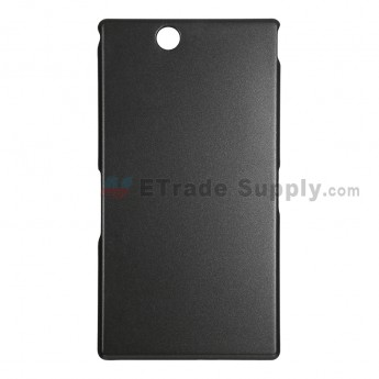 For Sony Xperia Z Ultra XL39h Hard Protective Case - Black - Grade R
