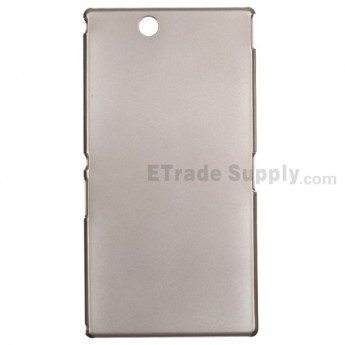 For Sony Xperia Z Ultra XL39h Hard Protective Case - Grey - Grade R