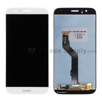 For Huawei D199/G8 LCD Screen and Digitizer Assembly Replacement - White - With Logo - Grade S+