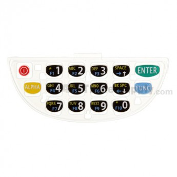 Symbol PPT8800 Rubber Keypad (16 Keys)