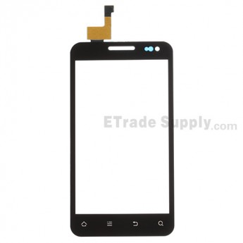 For ZTE Cricket Engage V8000 Digitizer Touch Screen Replacement - Black - Grade S+