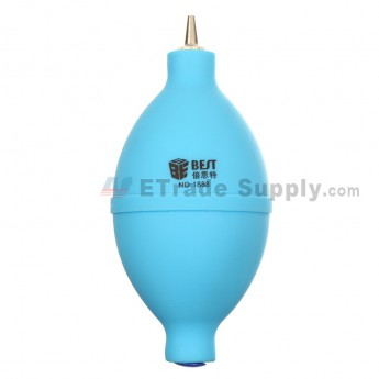 Watch Cleaning Tool Rubber Air Dust Blower Ball (BST-1888) - Light Blue