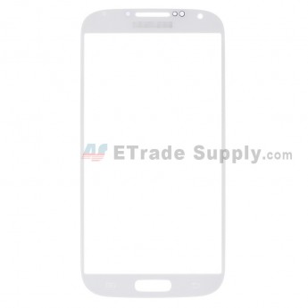 For Samsung Galaxy S4 GT-I9500/I9505/I545/L720/R970/I337/M919/I9502 Glass Lens Replacement - White - Grade R