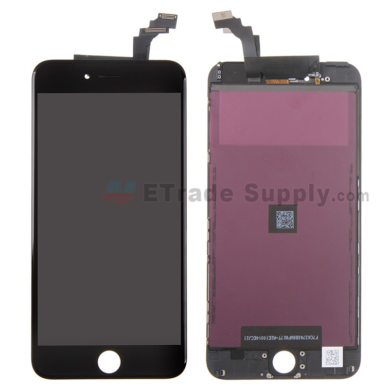 a58af5a8b42efb Apple iPhone 6 Plus LCD and Digitizer Assembly with Frame (LG) Black - ETrade  Supply