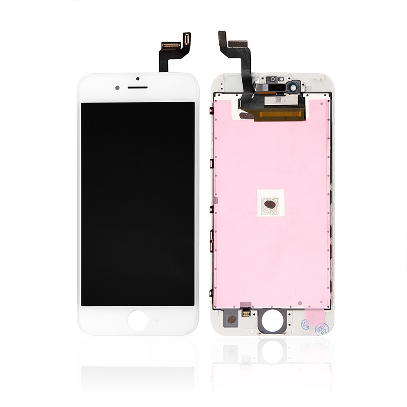 sneakers for cheap 6095d dffe4 For Apple iPhone 6S LCD Screen and Digitizer Assembly with Frame  Replacement - White - Grade S+