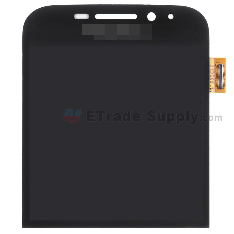 For Blackberry Classic Q20 LCD Screen and Digitizer Assembly Replacement -  Black - Grade S+