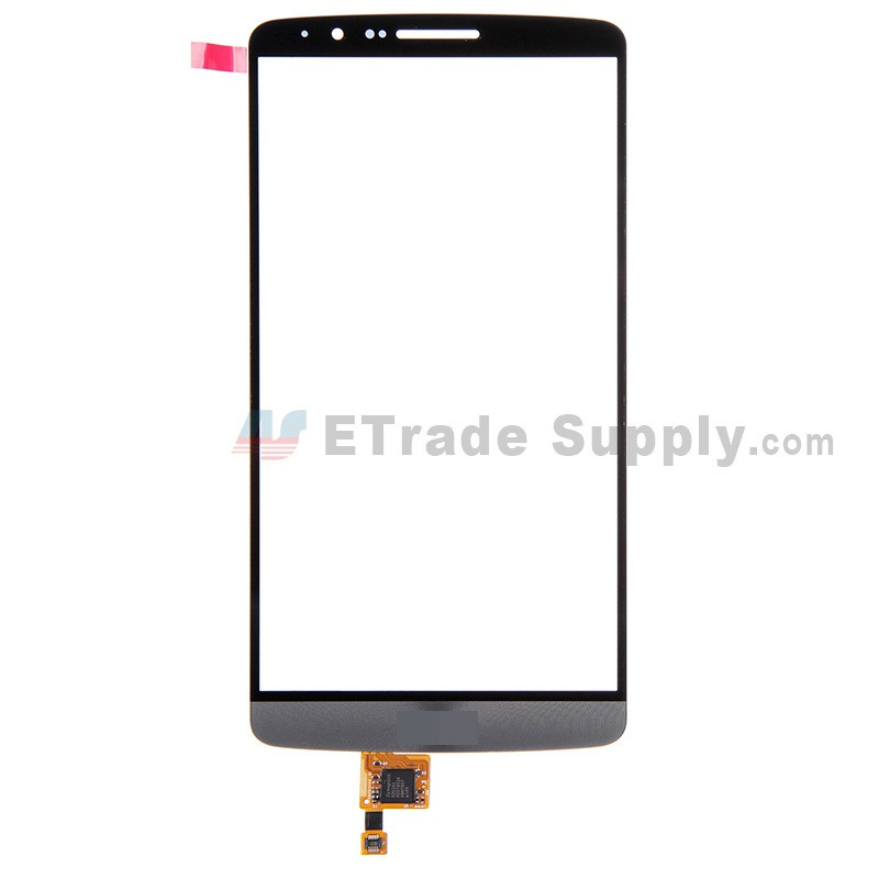 For LG G3 D850 Digitizer Touch Screen Replacement - Gray - With Logo -  Grade R