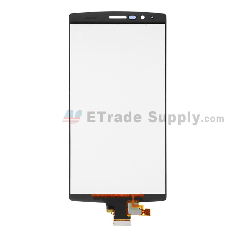 For LG G4 H815/F500H810/H811/H812/LS991 LCD Screen and Digitizer Assembly  Replacement - Black - with Logo - Grade S+