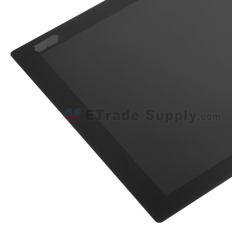 For Sony Xperia Z4 Tablet LCD Screen and Digitizer Assembly Replacement -  Black - With Logo - Grade S+