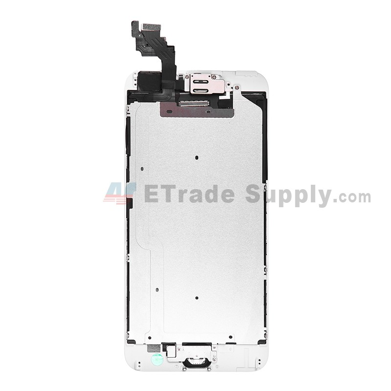 iphone 6 plus lcd replacement apple iphone 6 plus lcd assembly with frame and home 17560