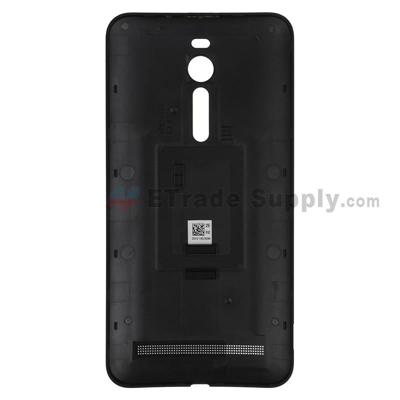 newest bcbdc 67b08 For Asus Zenfone 2 ZE551ML Battery Door Replacement - Black - With Logo -  Grade S+