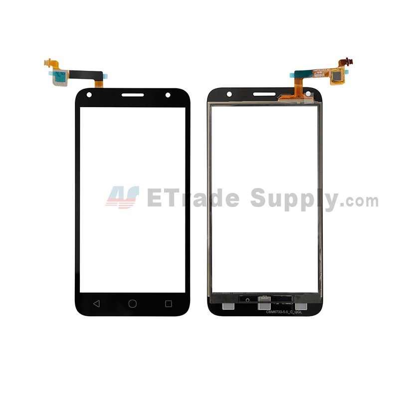 newest 65b96 31dc4 For Alcatel Pixi 4 (5) 5010 Digitizer Touch Screen Replacement - Black -  Grade S+