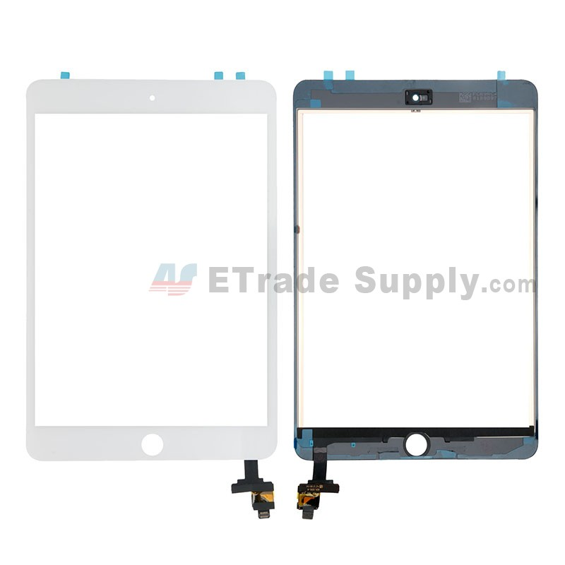 . Black iPad 2 digitize touch screen replacement OEM quality with home button