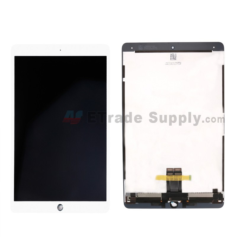 For Apple iPad Pro 10 5 LCD Screen and Digitizer Assembly Replacement -  White - Grade S+