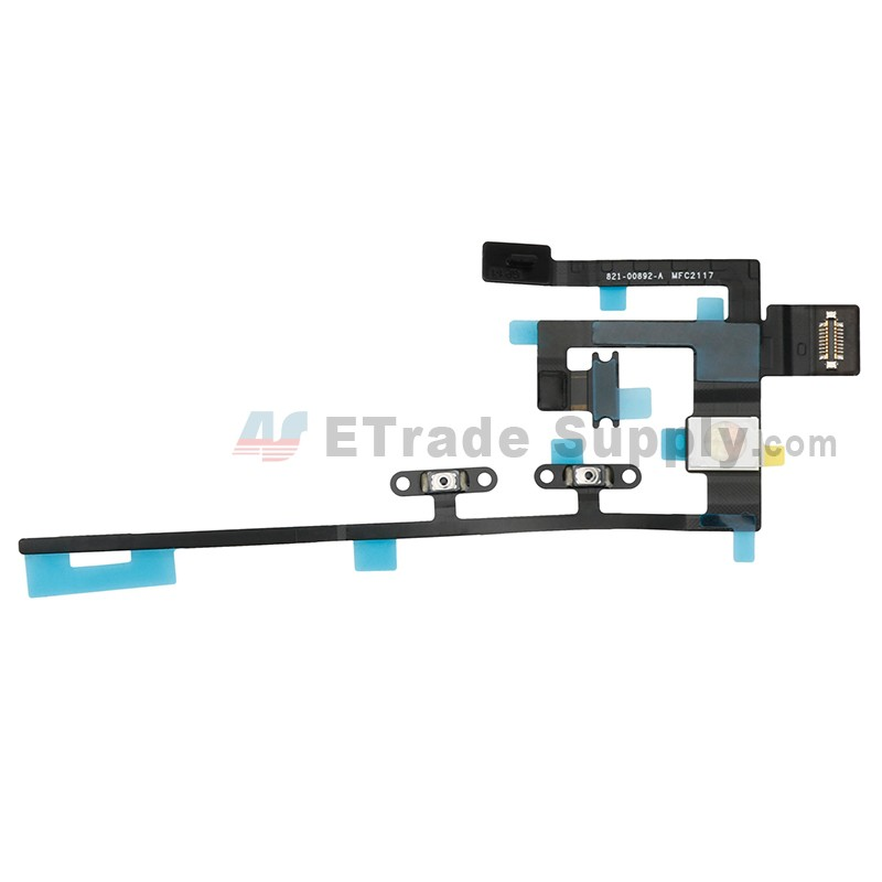 for apple ipad pro 10 5 power button flex cable ribbon replacement - grade  s+ (0