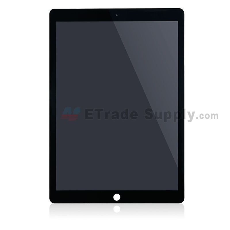 apple ipad pro 12 9 lcd screen and digitizer assembly black etrade supply. Black Bedroom Furniture Sets. Home Design Ideas