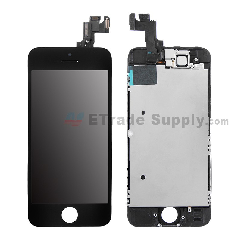 iphone 5s screen replacement apple iphone 5s lcd assembly with frame and small parts 1060