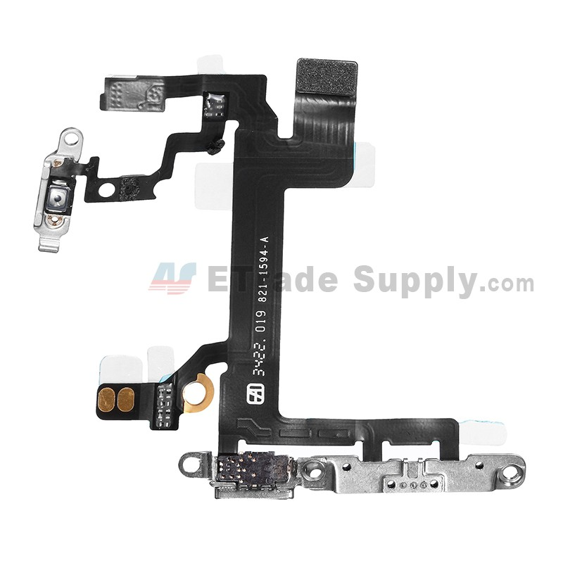 iphone 5 power button oem apple iphone 5s power button flex cable ribbon 14557