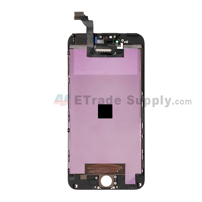 watch bc2ce d197b For Apple iPhone 6 Plus LCD Screen and Digitizer Assembly with Frame  Replacement - Black - Grade S+