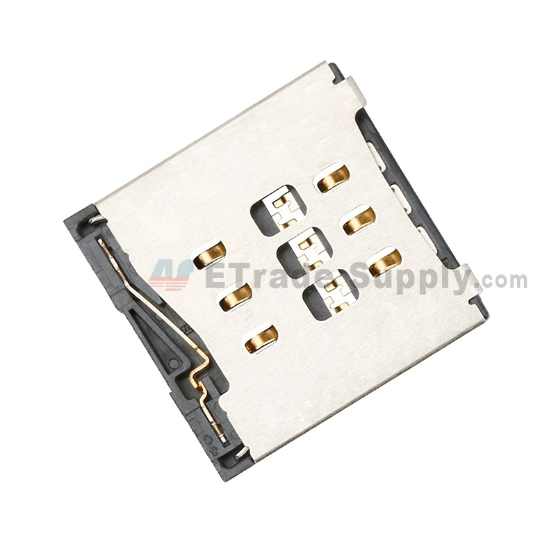 For Apple iPhone 6 SIM Card Reader Contact Replacement - Grade S+