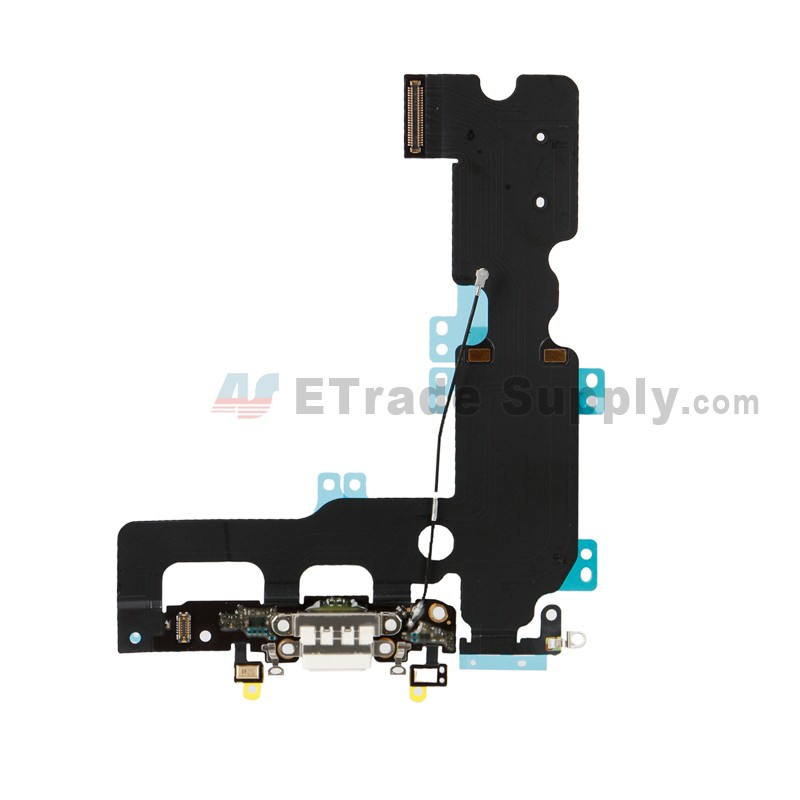 Apple Iphone 7 Plus Charging Port Flex Cable Ribbon White