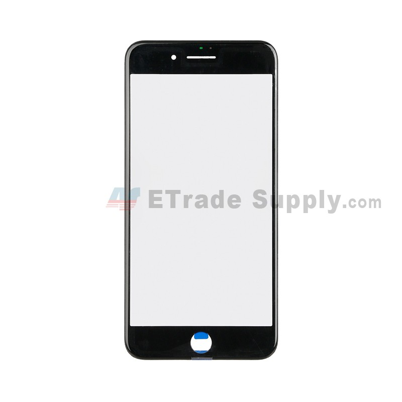 Apple iPhone 7 Plus Glass Lens with Frame Black - ETrade Supply