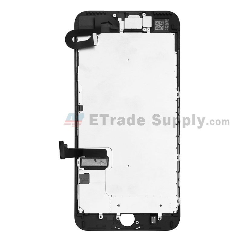 timeless design 710bc 4dfef For Apple iPhone 7 Plus LCD Screen and Digitizer Assembly with Frame and  Small Parts Replacement (Without Home Button) - Black - Grade R