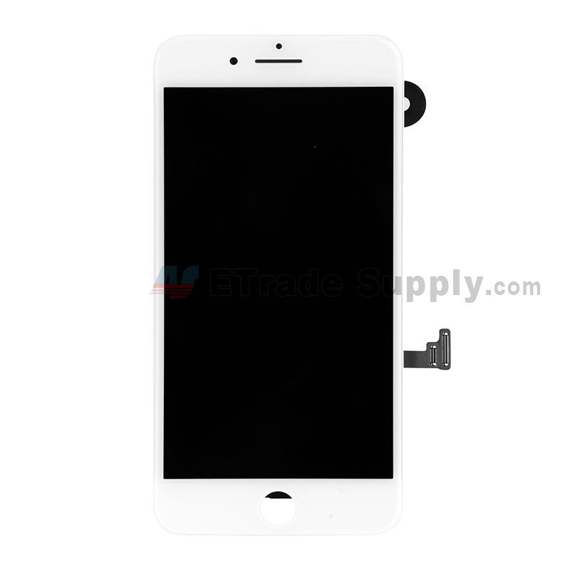 brand new 12837 2115b For Apple iPhone 7 Plus LCD Screen and Digitizer Assembly with Frame and  Small Parts Replacement (Without Home Button) - White - Grade R
