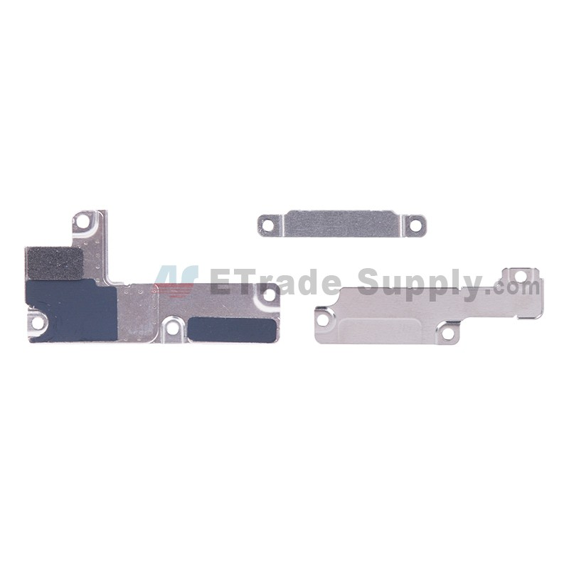 1dae48aaf88aa For Apple iPhone 7 Plus Motherboard PCB Connector Retaining Bracket  Replacement (3 pcs/set) - Grade S+