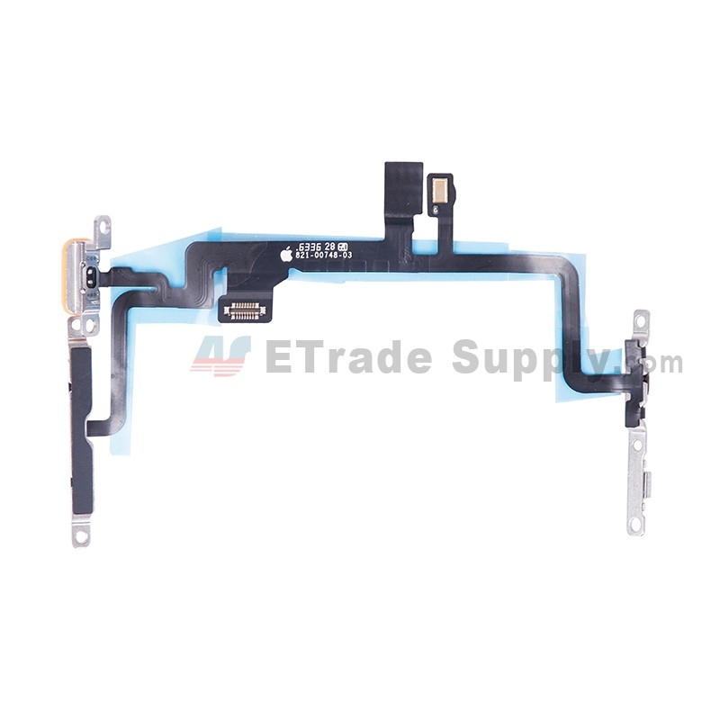 on sale 1b1e8 319a2 For Apple iPhone 7 Plus Power Button and Volume Button Flex Cable Ribbon  Assembly Replacement - Grade S+