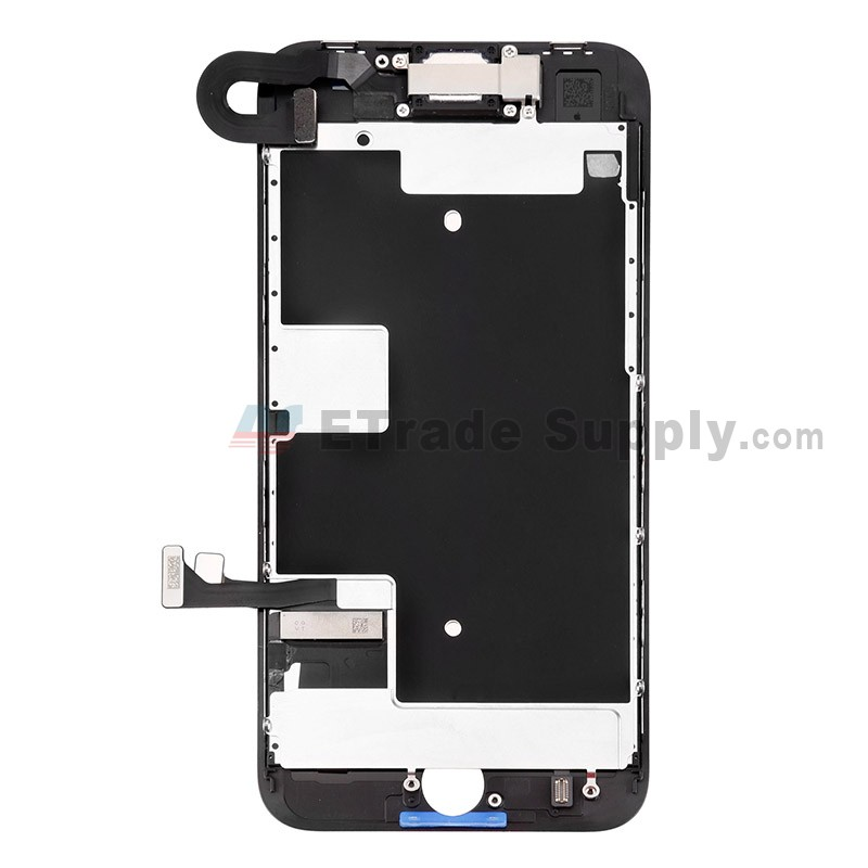 lowest price 003b4 21b71 For Apple iPhone 8 LCD Assembly with Frame and Small Parts Replacement (No  Home Button and With Auto Brightness Function) - Black - Grade S